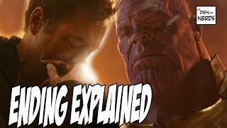 Infinity War Ending Explained | Captain Marvel in Avengers 4