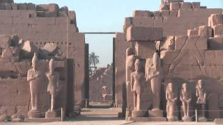 Precinct of Amun-Re temple is one of the temples of the Karnak Temple Complex in Luxor, Egypt