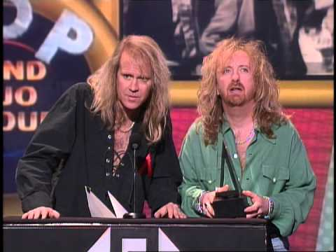 Aerosmith Wins Pop Rock Band Duo or Group - AMA 1994