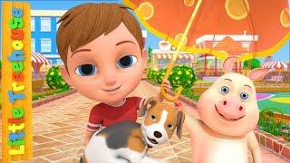 I Hear Thunder | Nursery Rhymes Cartoons for Babies by Little Treehouse