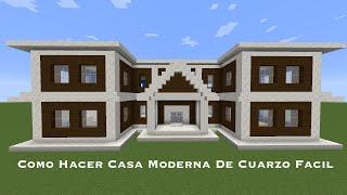 Como Hacer Casa Moderna De Cuarzo Facil (PT1)
