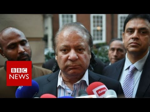 Xxx Mp4 Pakistan Ex PM Nawaz Sharif Given 10 Year Jail Term BBC News 3gp Sex