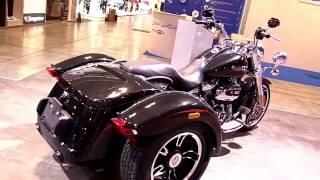 2017 Harley Davidson Freewheeler Walkaround Review Look in HD