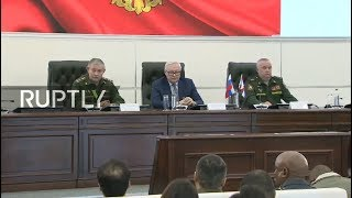 LIVE: Russia's Defence Ministry holds news briefing on 9M729 missile system (ENG)