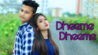 Dheeme Dheeme - Tony Kakkar | Ft.Priyasmita And Ripon | Love Story | Love Sin