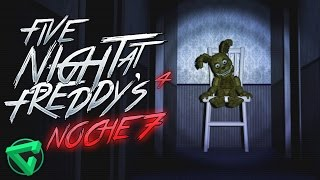 Five Nights at Freddy's 4 ¡NIGHTMARE, EL ANIMATRÓNICO SECRETO! Noche 7 | iTownGamePlay FNAF 4