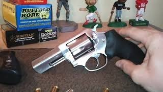 "CCW CANNON! RUGER SP101 .357 MAGNUM 3"" STAINLESS REVIEW"