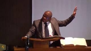 Prédication 30 juillet 2016 «Ne crains rien, Christ est là» Jean-Richard Bossous