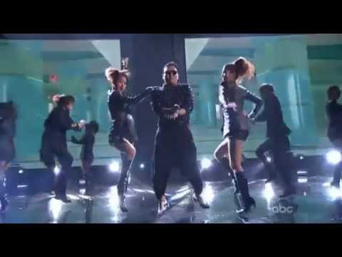 PSY With Special Guest MC Hammer Gangnam Style American Music Awards