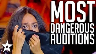TOP 3 MOST DANGEROUS AUDITIONS on Georgia