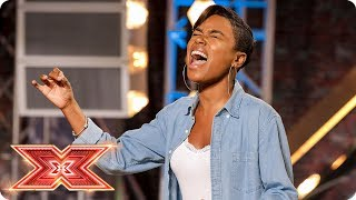 Can Deanna put Anguilla on the map with Whitney Houston song? | Auditions Week 2 | The X Factor 2017