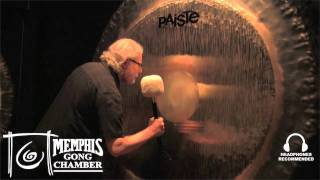 "80"" Paiste Symphonic Gong - Played by Michael Bettine at Memphis Gong Chamber"