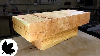 Coffee Table - Reclaimed Timber