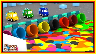 PAINTBALL PARK! - Cartoon Cars Cartoons for Children. Videos for Kids - Kids Cars Cartoons Animation