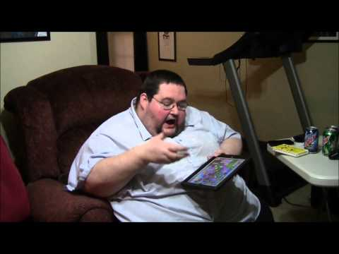 Fat Guy Spends 380 on CANDY CRUSH