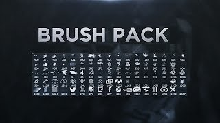 How to download & Install brush in photoshop | Free brush pack Download