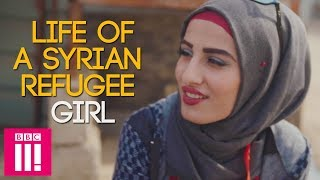 Life Of A Syrian Refugee Girl