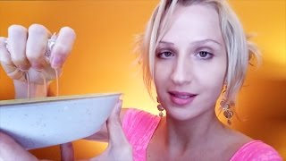 Microdermabrasion SPA: ASMR Roleplay with Strong ACCENT: Face Exfoliation, Sponge and Facial