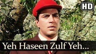 Yeh Haseen Zulf (HD) - Kaajal Songs - Meena Kumari - Raj Kumar - Asha Bhosle