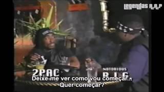 Tupac e big freestyle legendado