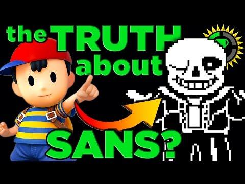 Game Theory UNDERTALE Sans s SECRET Identity