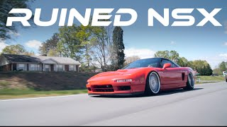Acura NSX - Stanced on Air // Gears and Gasoline
