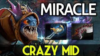 Miracle- DOTA 2 [Slark] Crazy Mid Hard Game