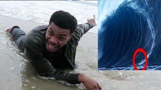 I SURVIVED THE BIGGEST WAVE EVER!