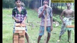 Funny songs of Garobazar boy Aj Amare Aina Daw Purnimar Chan