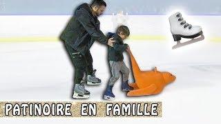 PATINOIRE EN FAMILLE à Bercy et Blague de Loulou / Family vlog