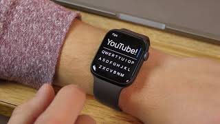 FlickType for Apple Watch: keyboard typing on your wrist!