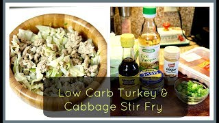 HEALTHY AND EASY CABBAGE STIR FRY!!