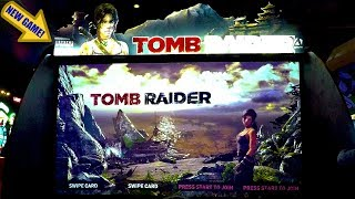 Tomb Raider Arcade Game Play Light Gun Shooter New Release & First Look: Stranded On An Island
