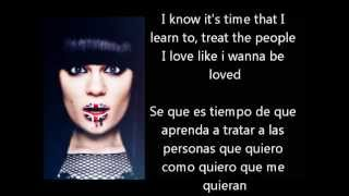 Nobody's perfect - Jessie J Lyrics Ingles/Español (Acoustic)