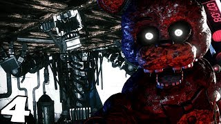 TRAPPED IN A ENDOSKELETON FILLED BASEMENT || The Joy of Creation Story Mode (Five Nights at Freddys)