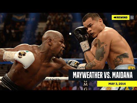 FULL FIGHT Floyd Mayweather Jr. vs. Marcos Maidana DAZN Rewind