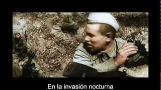 Sabaton - Panzerkampf.. subtitulado  español 2013 . RG