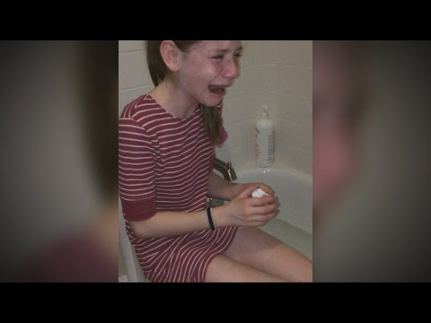 11 Year Old Girl Allergic to Sunlight ABC News