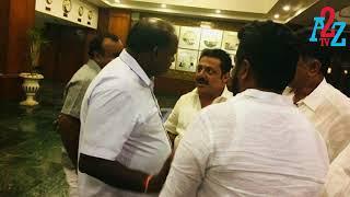 B.Z.Zameer Ahmed Khan met Ex CM Kumaraswamy at Eagle Ton Resort,A2Z TV