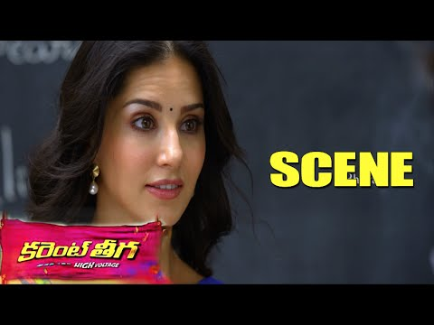 Sunny Leone Funny Lectures On Boys || Dont Miss It || Current Theega Movie Scenes
