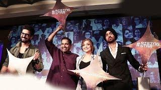 Rising Star 2 Launch   Shankar Mahadevan, Ravi Dubey, Monali Thakur, Diljit Dosanjh