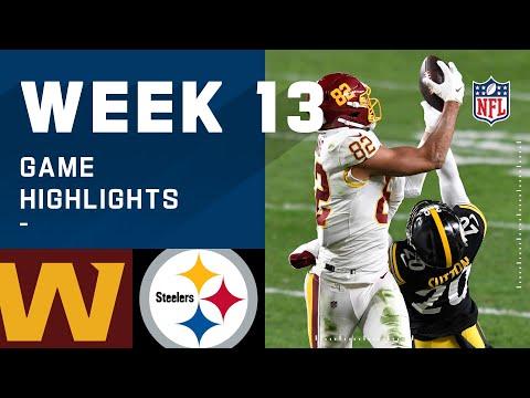 Washington Football Team vs. Steelers Week 13 Highlights NFL 2020