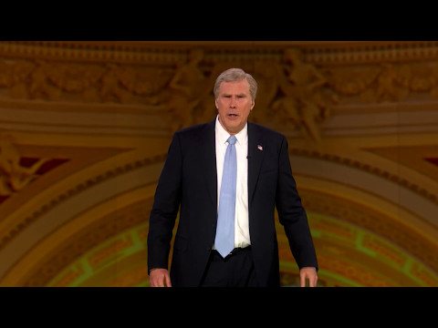 Will Ferrell's Full Speech As George W. Bush At NotTheWHCD Full Frontal on TBS