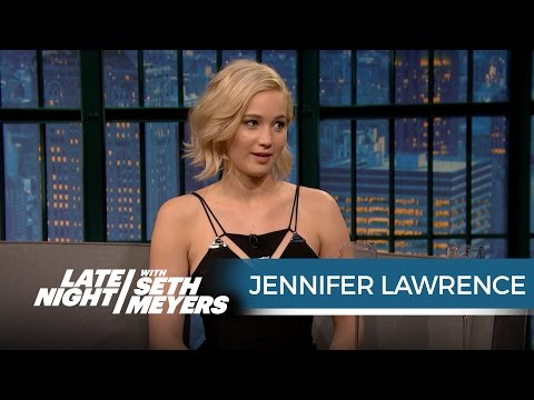 Jennifer Lawrence Wanted Seth to Ask Her Out When She Hosted SNL Late Night with Seth Meyers
