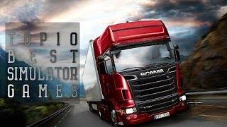 Top10 Best Simulator Games for PC | Pure Simulation
