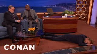"""JB Smoove Explains The Storied History Of The Phrase """"Get In Dat Ass""""  - CONAN on TBS"""