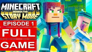 MINECRAFT STORY MODE SEASON 2 EPISODE 1 Gameplay Walkthrough Part 1 FULL GAME - No Commentary
