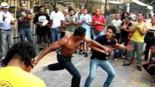 CAPOEIRA EN LAS CALLES DE SAU PAULO 1