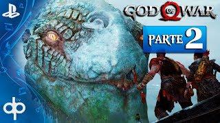 GOD OF WAR 4 PS4 Parte 2 Español Gameplay PS4 PRO | La Serpiente del Mundo MIDGAR (God of War 2018)