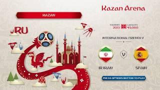 FIFA 18 world cup prediction,Iran vs Spain group A